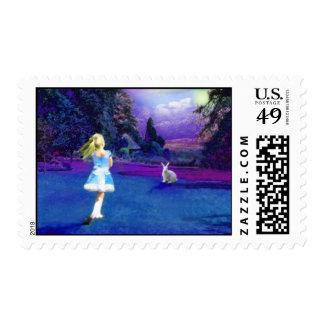 Alice in Wonderland Stamp