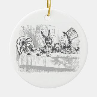 Alice in Wonderland Tea Party Ornament