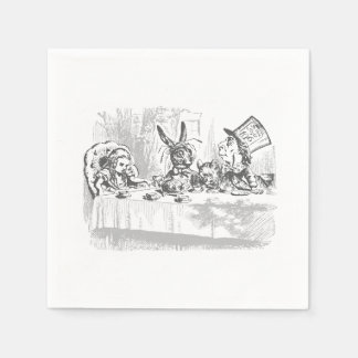 Alice in Wonderland Tea Party Paper Napkins
