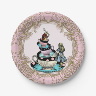 Alice in Wonderland Tea Party Paper Plate