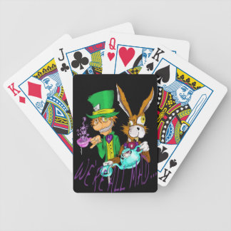 Alice In Wonderland Tea Party Playing Cards
