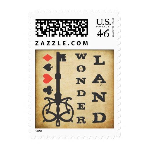 Alice in Wonderland Tea Party Vintage Postage