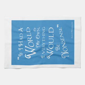 Alice in Wonderland - Tea Towel - Own World