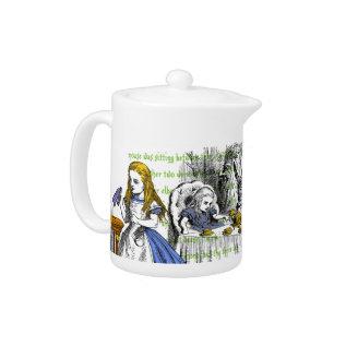 Alice In Wonderland Teapot at Zazzle