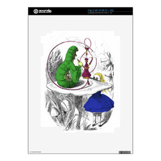 Alice in Wonderland - The Caterpillar Decals For iPad 2
