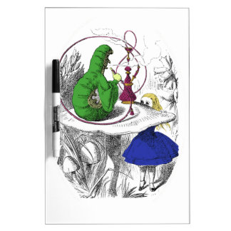 Alice in Wonderland - The Caterpillar Dry Erase Board