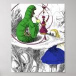 Alice in Wonderland - The Caterpillar Poster