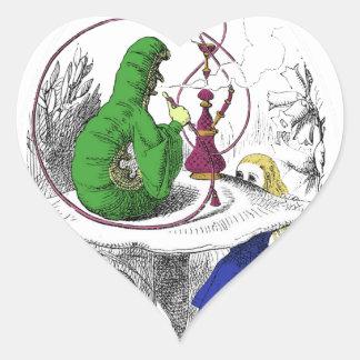 Alice in Wonderland - The Caterpillar Sticker