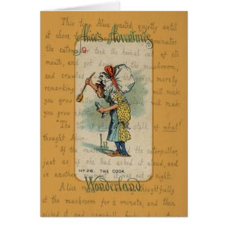 Alice in Wonderland: The Cook Card