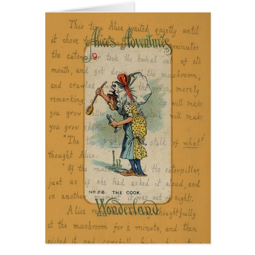 Alice in Wonderland: The Cook Greeting Cards