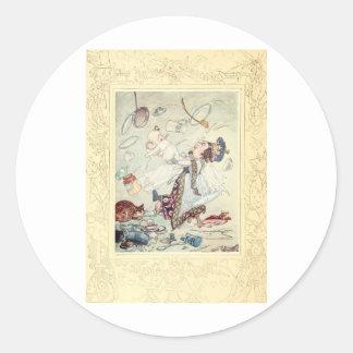 Alice in Wonderland, The Duchess, Vintage Stickers