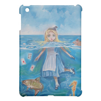 Alice in Wonderland the pool of tears by G Bruce iPad Mini Cases