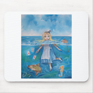 Alice in Wonderland the pool of tears by G Bruce Mouse Pad