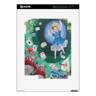 Alice in Wonderland -- The Rabbit Hole iPad 3 Decals