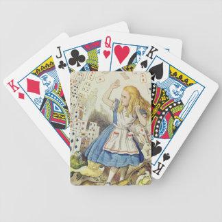 Alice in Wonderland, The Shower of Cards