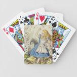 Alice in Wonderland, The Shower of Cards Card Decks