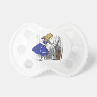 Alice in Wonderland - The Small Door BooginHead Pacifier