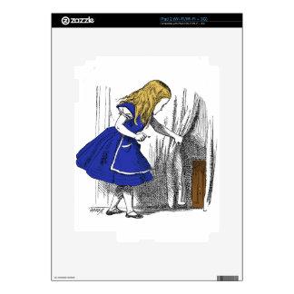 Alice in Wonderland - The Small Door Decals For iPad 2