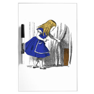 Alice in Wonderland - The Small Door Dry-Erase Board
