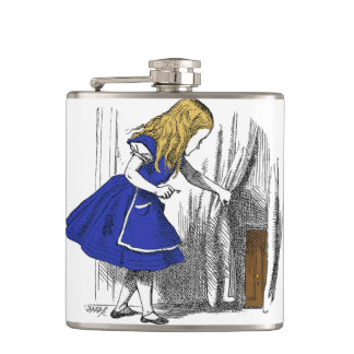Alice in Wonderland - The Small Door Flask