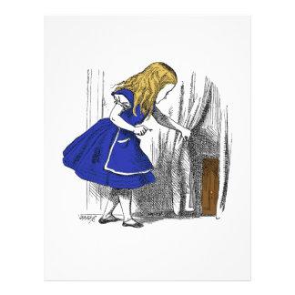 Alice in Wonderland - The Small Door Letterhead