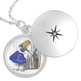 Alice in Wonderland - The Small Door Silver Plated Necklace