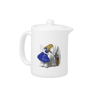 Alice in Wonderland - The Small Door Teapot
