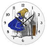 Alice in Wonderland - The Small Door Wall Clocks