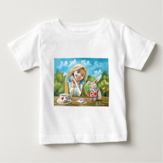 Alice in wonderland the white rabbit Gordon Bruce Baby T-Shirt