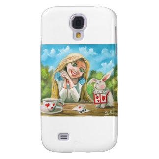 Alice in wonderland the white rabbit Gordon Bruce Galaxy S4 Case