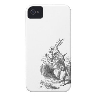Alice in Wonderland the White Rabbit vintage 4S iPhone 4 Covers