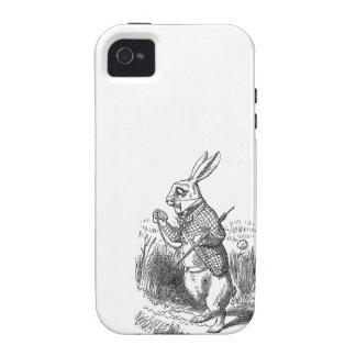 Alice in Wonderland the White Rabbit vintage 4S Vibe iPhone 4 Case
