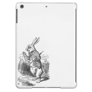 Alice in Wonderland the White Rabbit vintage iPad Air Covers