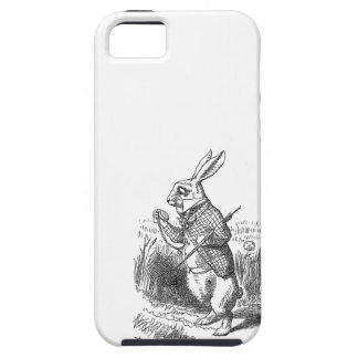 Alice in Wonderland the White Rabbit vintage  iPhone 5 Cover