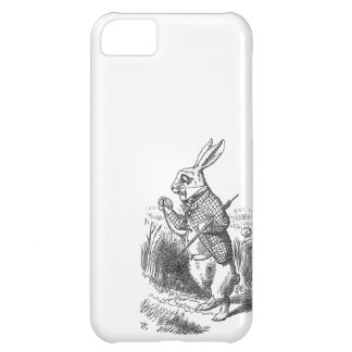 Alice in Wonderland the White Rabbit vintage  Cover For iPhone 5C