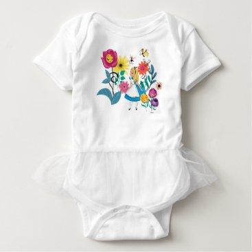 Disney Themed Alice in Wonderland | The Wonderland Flowers Baby Bodysuit