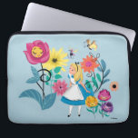 "Alice in Wonderland | The Wonderland Flowers Laptop Sleeve<br><div class=""desc"">Alice encounters a garden of singing and not so friendly flowers.</div>"