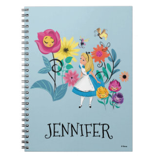 Alice in Wonderland | The Wonderland Flowers Notebook