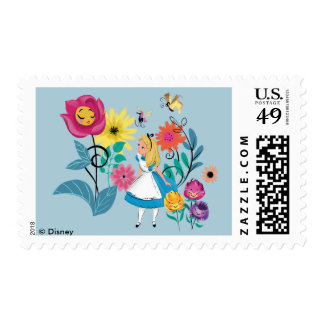 Alice in Wonderland | The Wonderland Flowers Postage