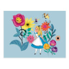 Alice in Wonderland | The Wonderland Flowers Postcard