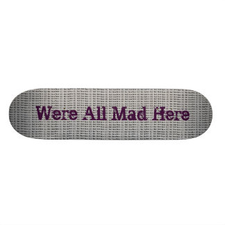 Alice in Wonderland Themed Skateboard