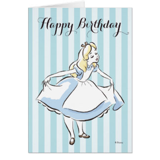 Alice in Wonderland | This Way to Wonderland Card