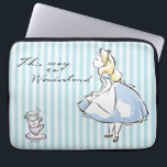 "Alice in Wonderland | This Way to Wonderland Computer Sleeve<br><div class=""desc"">Alice in Wonderland 