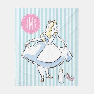 Alice in Wonderland | This Way to Wonderland Fleece Blanket