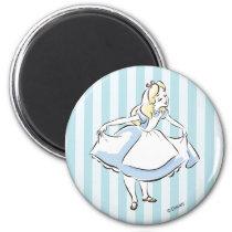 Alice in Wonderland | This Way to Wonderland Magnet