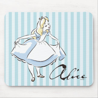 Alice in Wonderland | This Way to Wonderland Mouse Pad