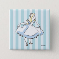 Alice in Wonderland | This Way to Wonderland Pinback Button