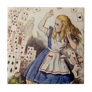 Alice in Wonderland Tile, Card Attack Tile