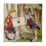 Alice in Wonderland Tile, The Footmen Tile
