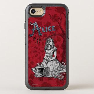 Alice in Wonderland - Tim Burton 3 OtterBox Symmetry iPhone 7 Case